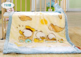 Cobertor macio super do bebê de Raschel da alta qualidade (SR-BB170301-18)