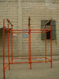 Andamio pintado acero de Quicklock para utilizar concreto