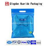 Het hoge Ondergoed van de Ritssluiting van de Duidelijkheid kleedt Zak van de Verpakking van de Kleding van het Overhemd de Plastic