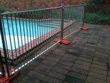 Temporärer Pool-Zaun 1250mm x 2300mm heißes eingetaucht galvanisiert 42 Mikrons