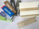 papeles de balanceo del cigarrillo de la alta calidad de encargo de la marca de fábrica que fuman 14GSM
