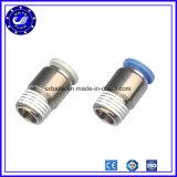 Inserire rapido pneumatico d'ottone del metallo dei montaggi del connettore della Cina la giuntura di tubo dell'accoppiatore rapido dei montaggi