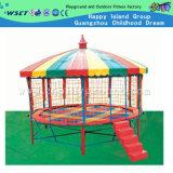 Redondo colorido Trampolim Outdoor parque infantil com trampolim Roof (M11-10402)