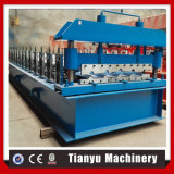 Eisen-Stahldach-Fliese-Metallpanel, welches die Rolle bildet Maschine bildet