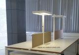 Uispair moderne Anzeigen-Licht-Tisch-Lampe des Büro-10W örtlich festgelegte mit Drucktastenschalter