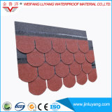 Высокого качества плитки крыши стеклоткани гонт асфальта водоустойчивого цветастый