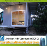 China-Hersteller-kleiner Stahlaufbau-aufbauendes vorfabriziertes Haus