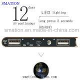 Da bateria móvel do telefone de pilha do Li-íon do presente 20000mAh banco universal dos poderes de emergência do USB
