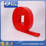 Tubo flessibile del PVC di concentrazione e di alta pressione/tubo flessibile piano posto