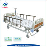 Cama de hospital manual inestable del acero inoxidable dos