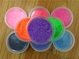 24 cores DIY que modelam da espuma mágica da neve de Fimo a argila de pouco peso super da cor