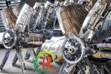 ステンレス鋼の温室Rsz-900のための重いハンマーの換気扇)