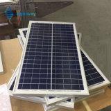 Sonnenkollektor 30W für bewegliches WegRasterfeld Solarinstallationssätze