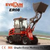 Everun Er08 충동 가격을%s 가진 소형 눈 잎 바퀴 로더
