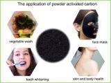 Pó ativado escudo Whitening natural do carbono do coco do dente do pacote pequeno