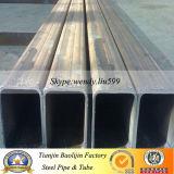 Q345 ERW穏やかなカーボン溶接の正方形の鋼管