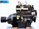 Trabalho estacionário de Ricardo R4105zp com o motor Diesel da embreagem