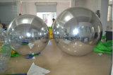 يعلّب قابل للنفخ مرآة كرة /Giant فضة كرة لأنّ مهرجانات زخرفة