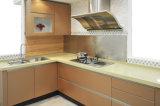 Hoher glatter UVlack-Küche-Schrank (ZX-015)