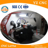 Torno horizontal do metal do CNC