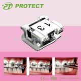 Proteggere l'auto ortodontico che lega orto dentale delle parentesi graffe