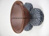 溶解した金属のための無水ケイ酸の網
