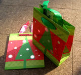 習慣によって印刷される安いペーパークリスマスのギフト袋