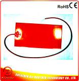 455*250*1.5mm 3D Draad van het Lood van Thermistor van de Verwarmer van het Silicone van de Verwarmer van de Printer Rubber24V 500W 3m Zelfklevende Achter100k (2000mmwire) 2000mm