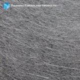 粉の限界によって切り刻まれる繊維のマット