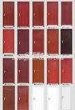 Material do MDF e portas de entrada interiores da madeira contínua da posição