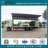Apertura Box Cargo Van Truck dell'ala di Sinotruk HOWO