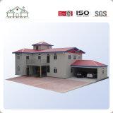Acero ligero de lujo del buen diseño que enmarca la casa prefabricada modular del chalet de Medern