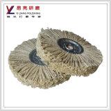 Rodas de lustro do aço inoxidável do sisal