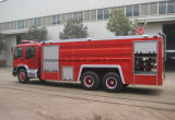 Isuzu 6X4 8000 L水2000 L泡はタンカーの消防車のトラックを消す