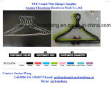 Оптовой гальванизированные прачечным Coated вешалки одежд провода металла