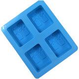 Moulage Shaped carré graphique de savon de Silcone d'arbre de DIY