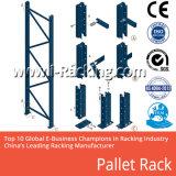 Crémaillère lourde réglable de palette/étagère industrielle de mémoire d'entrepôt