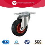 볼트 구멍 회전대 산업 고무 피마자 바퀴