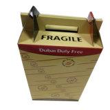 Дешевая коробка ручки перевозкы груза картона сбывания с прочным качеством