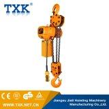 Подъем Txk изготовления фабрики таль с цепью 7.5 тонн электрическая с вагонеткой
