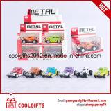 O metal puxa o brinquedo do carro do curso do caminhão do alimento para o presente de aniversário dos miúdos
