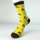Цветастые животные носки хлопка формы для носок платья человека и женщины