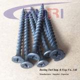 Linha de aço Tornillos 3 da multa do parafuso do Drywall de C1022 Hardend, 9X80
