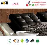 Base de couro moderna do projeto original novo da chegada para a mobília do quarto (HC301)