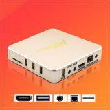 Internet sec du boîtier décodeur IPTV Ott de l'androïde 6.0 Rk3229 3D 4K de l'or A96 coulant le cadre de TV