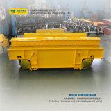 Vagone del carrello di trasferimento automatizzato bobina d'acciaio di Bwp-25t su cemento