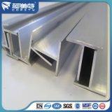 T-Perfil estándar de aluminio del OEM con color de plata anodizado natural