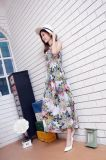 حارّ عمليّة بيع سيدات يرتدي يطبع زهرات طويلا لأنّ فصل صيف