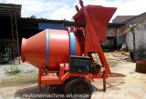 Mezclador de cemento concreto de la mezcladora del tambor Jzm750