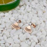 中国の工場メンズイヤリングのTanishqのダイヤモンドのイヤリング